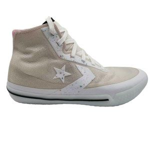 Converse Unisex All Star Pro BB Hi Ivory Shoes 9.5